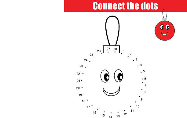 Royalty Free Connect The Dots Game Clip Art, Vector Images