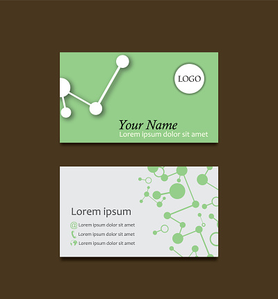 연결 비즈니스 카드 0명에 대한 스톡 벡터 아트 및 기타 이미지