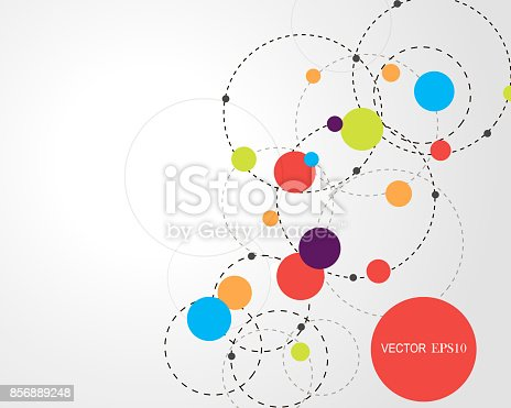 801051868istockphoto Connection concept. Geometric vector background for business or science 856889248