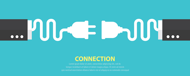 Connection Concept Stock Illustration - Download Image Now