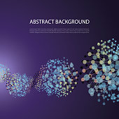 istock Connections - Abstract Mesh Background 1188656126