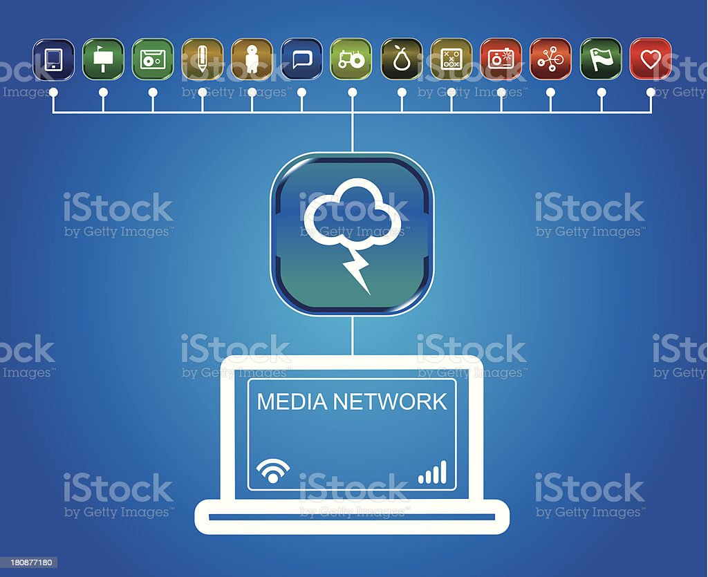 connectivity app icon set royalty-free connectivity app icon set stock vector art & more images of archives