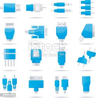 Vector set of connectors: