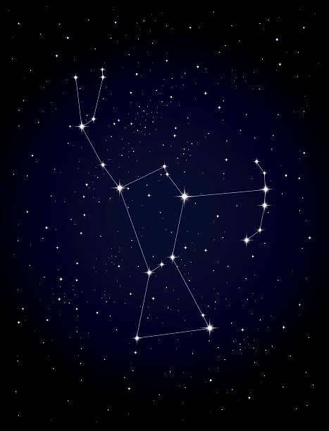 royalty free orion constellation clip art vector images