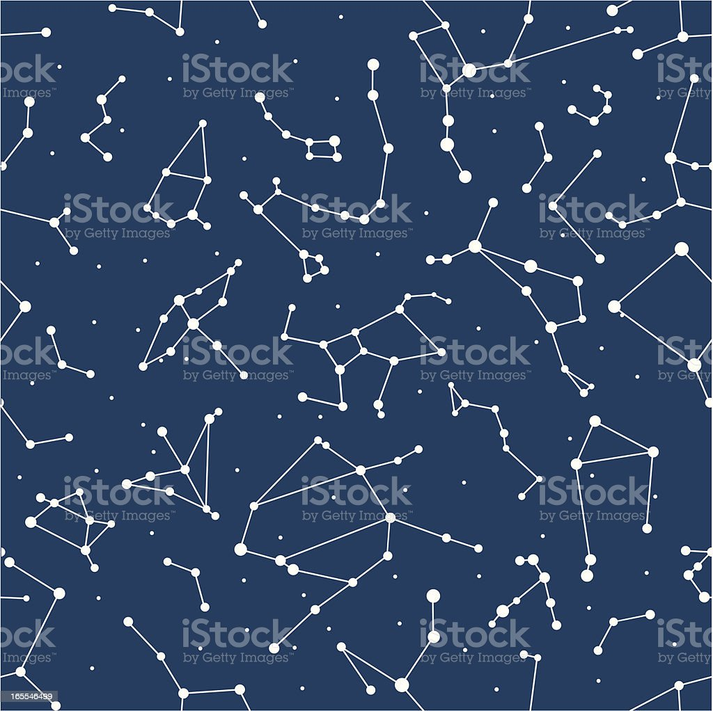 constellation(seamless) royalty-free constellation stock vector art & more images of animal markings