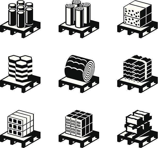 bau- und baustoffe - granitplatten stock-grafiken, -clipart, -cartoons und -symbole