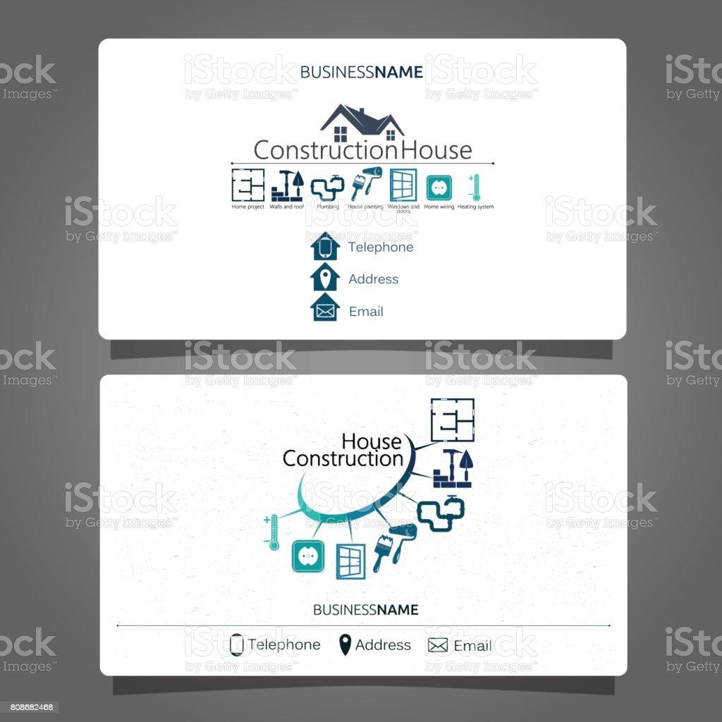 Construction Et Lentretien De La Carte Visite Maison