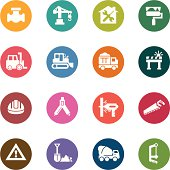 Construction Color Icons