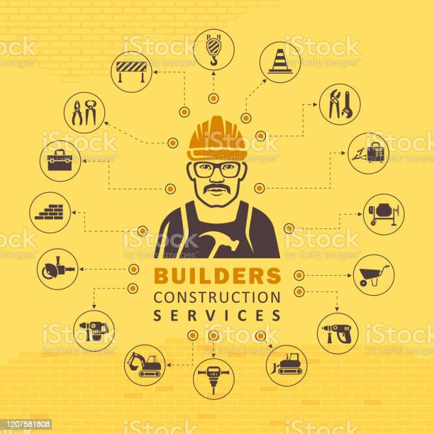 Construction Concept Stock Illustration - Download Image Now