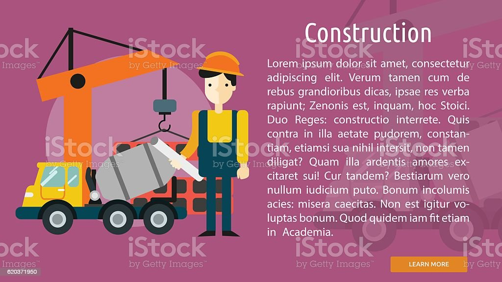 Construction Conceptual Banner construction conceptual banner - arte vetorial de stock e mais imagens de adulto royalty-free