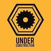 Construction design,vector illustration.