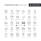 29 Construction Icons - Editable Stroke - Easy to edit and customize - You can easily customize the stroke with