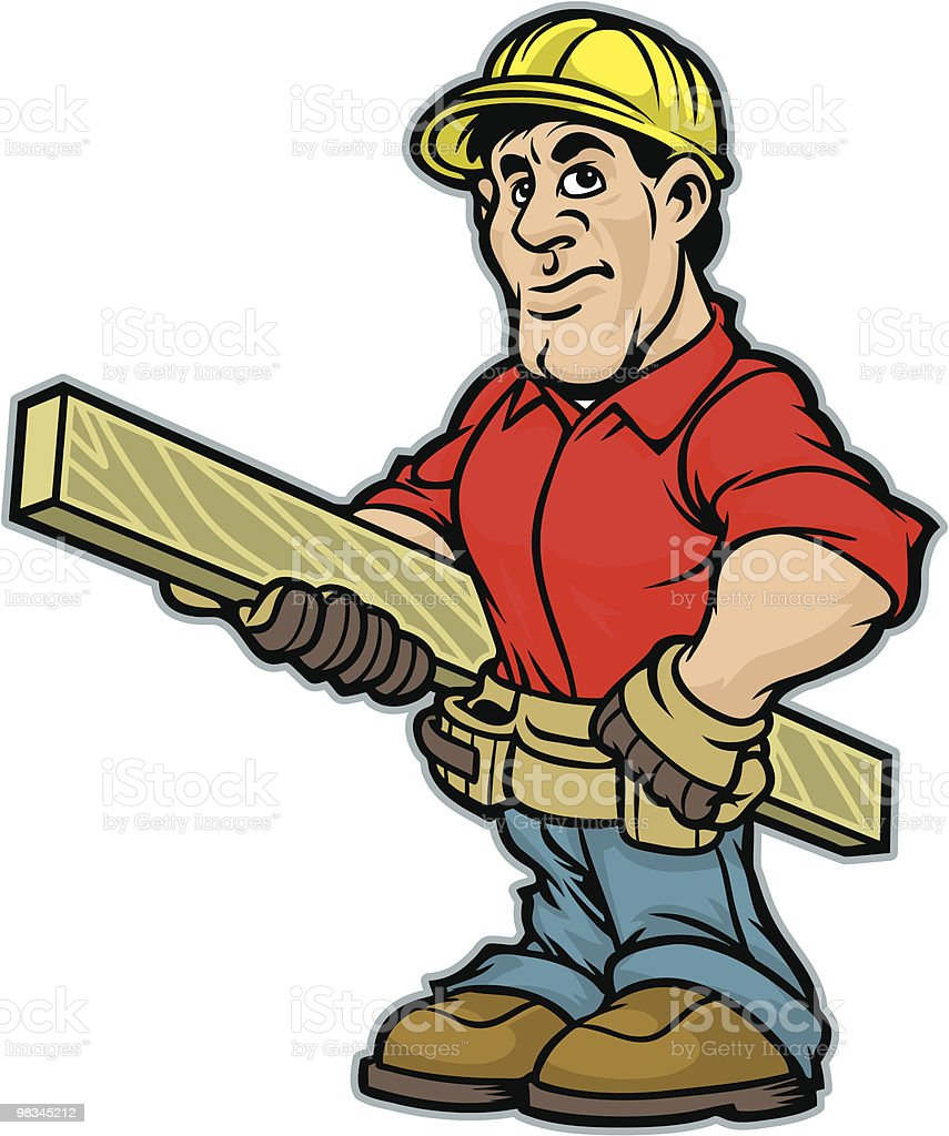 Construction Guy royalty-free construction guy stock vector art & more images of adult