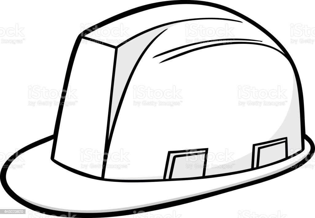 Construction Hard Hat Illustration Stock Illustration Download Image Now Istock