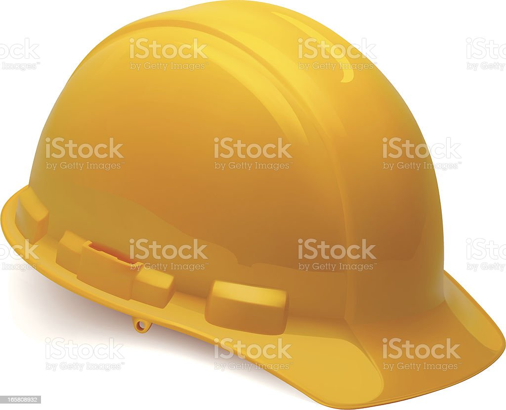 Construction Hardhat royalty-free stock vector art