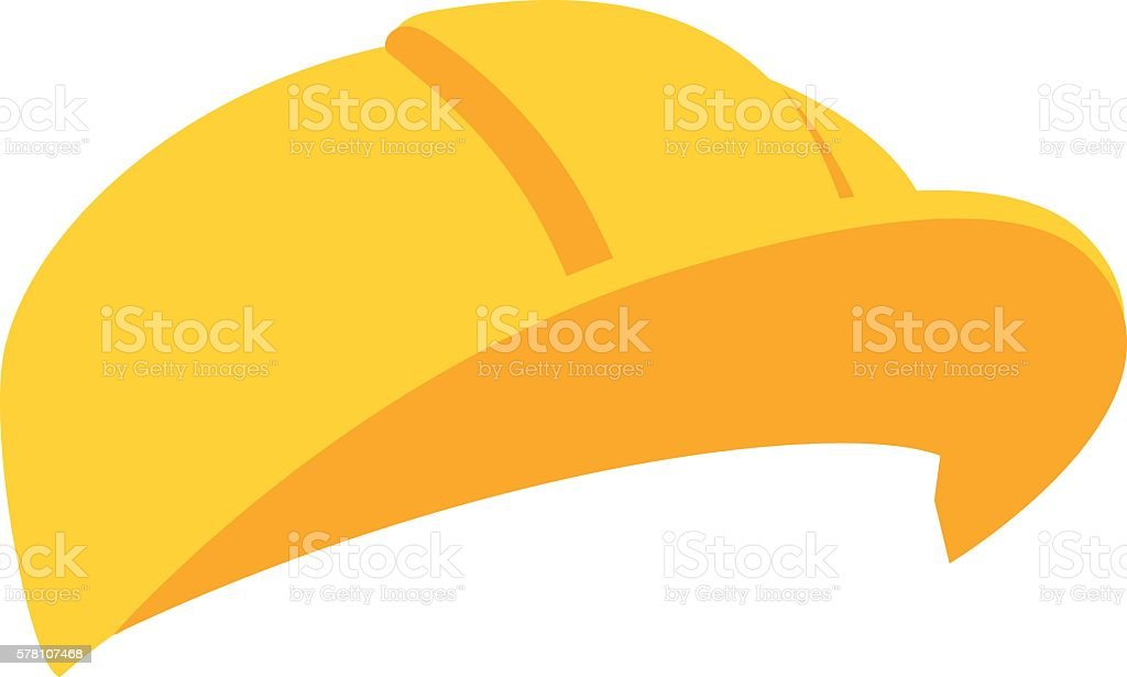 royalty free white hard hat clip art vector images illustrations rh istockphoto com Construction Hat Clip Art Template Construction Hat Clip Art Black and White