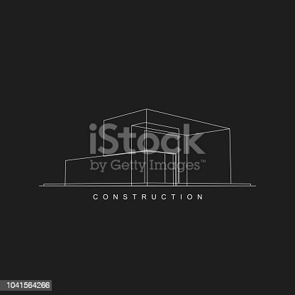 construction icon for design