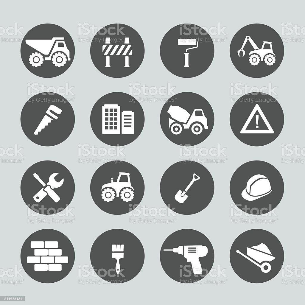Construction Icon vector art illustration