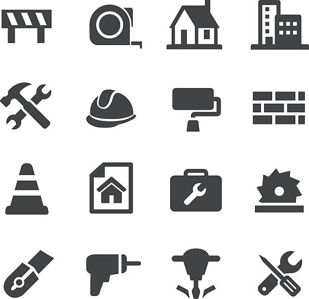 Construction Icons - Acme Series View All: diy stock illustrations