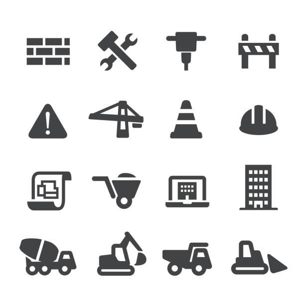 Construction Icons-Acme Series – Vektorgrafik