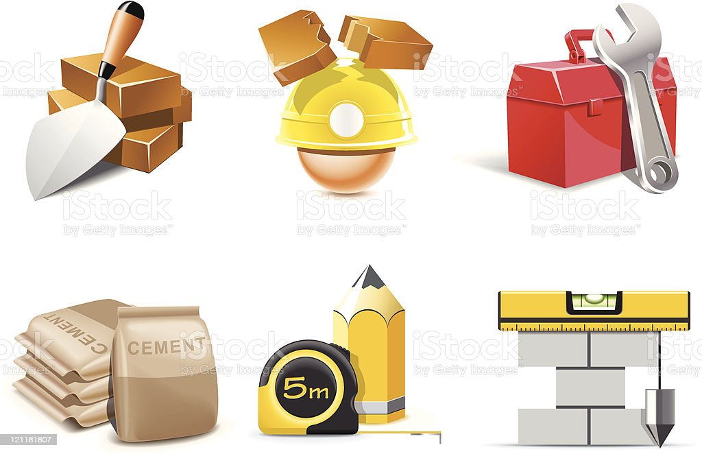Construction icons | Bella series royalty-free construction icons bella series stock vector art & more images of art