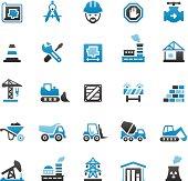 Quartico vector icons - Construction