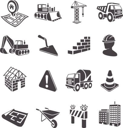3D Construction Icons