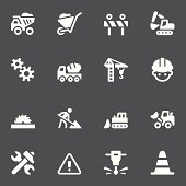 Construction Icons - White Series