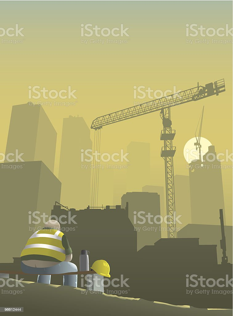 Construction man royalty-free construction man stock vector art & more images of adult