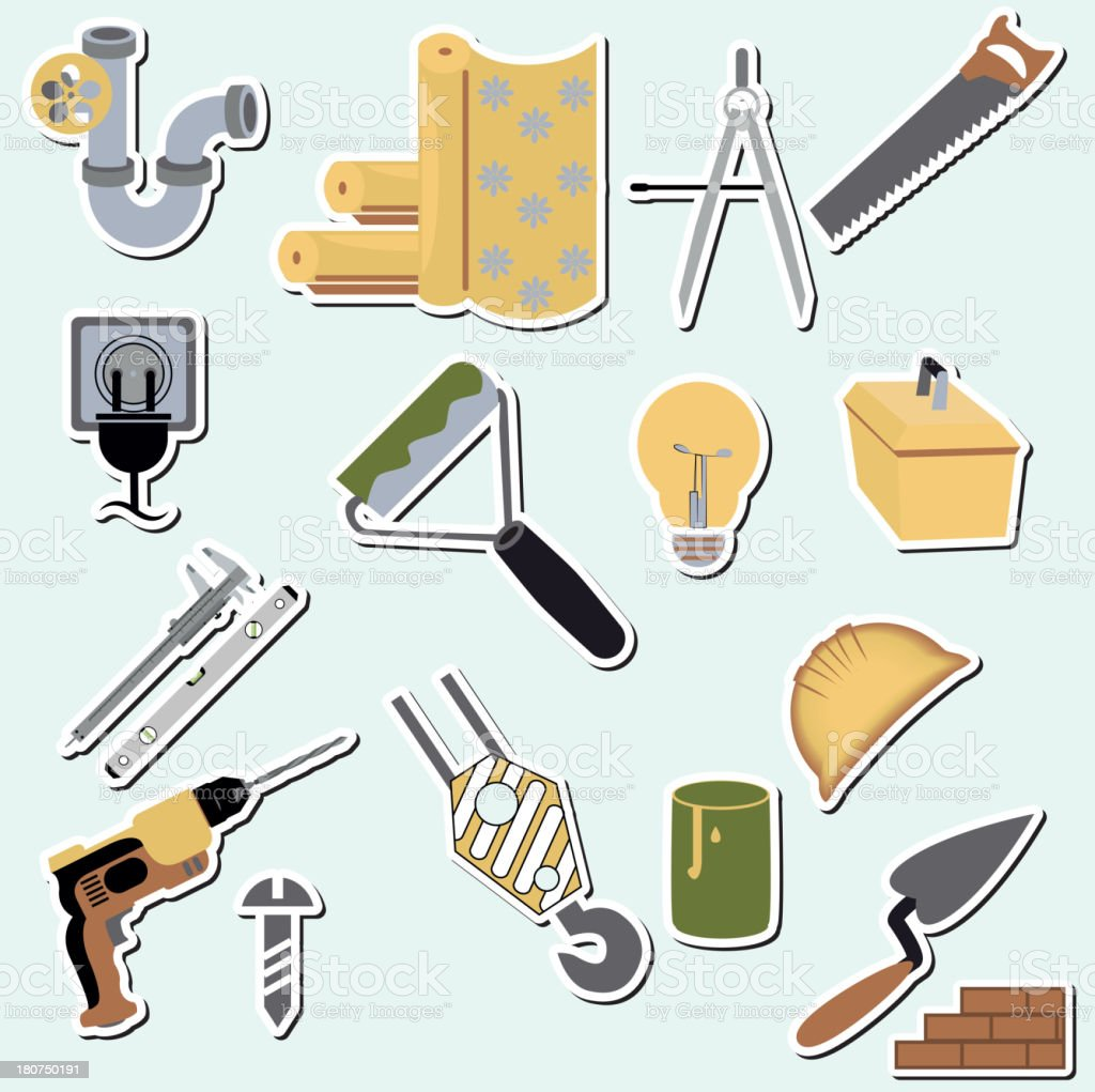 construction set royalty-free construction set stock vector art & more images of black color