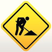 Construction Signs,vector background