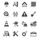 Construction Site Icon Set | Unique Series