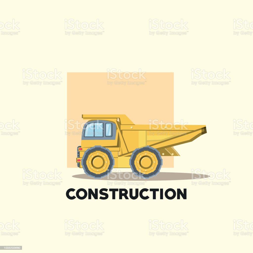 Ilustración de Diseño De Camiones De Construcción y más banco de ...