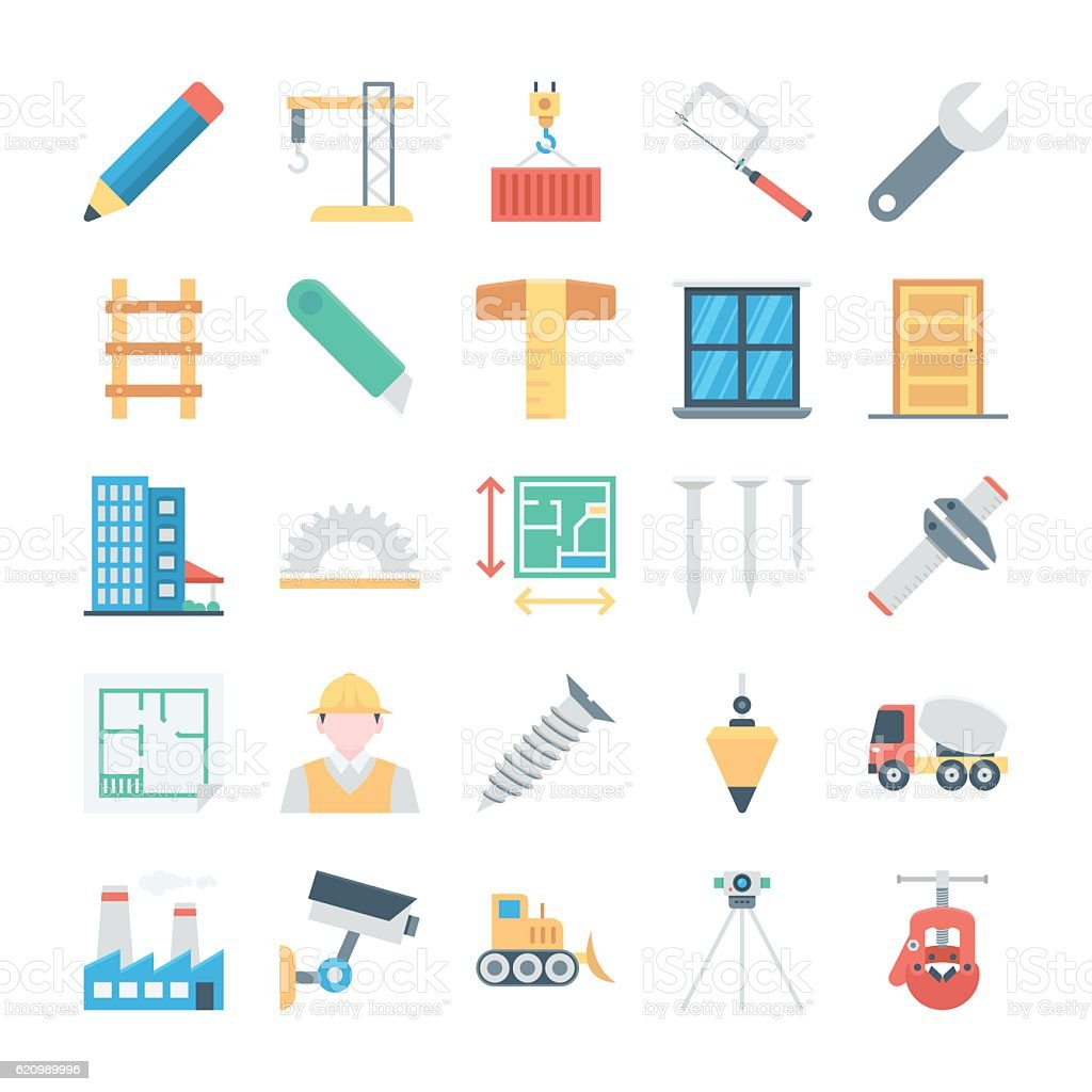 Construction Vector Icon 3 ilustração de construction vector icon 3 e mais banco de imagens de buldôzer royalty-free
