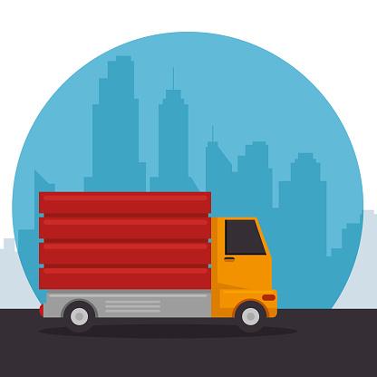 construction vehicle dumper truck