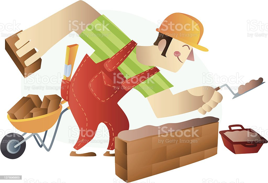 Construction worker royalty-free construction worker stock vector art & more images of activity