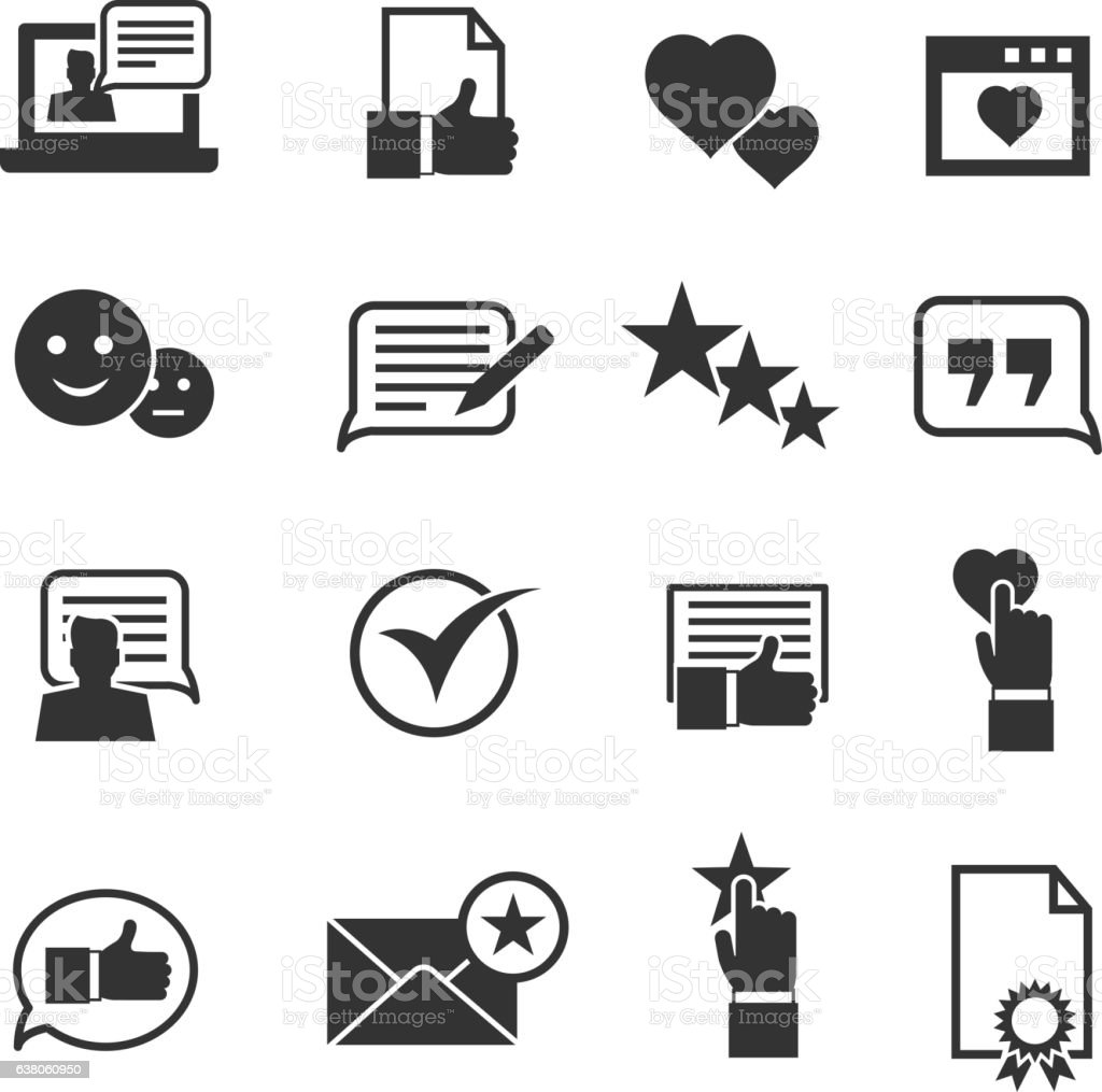 Consumer Loyalty Icons Stock Illustration Download Image Now Istock