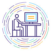 istock Consumer Protection Line Icon Illustration 1082456960