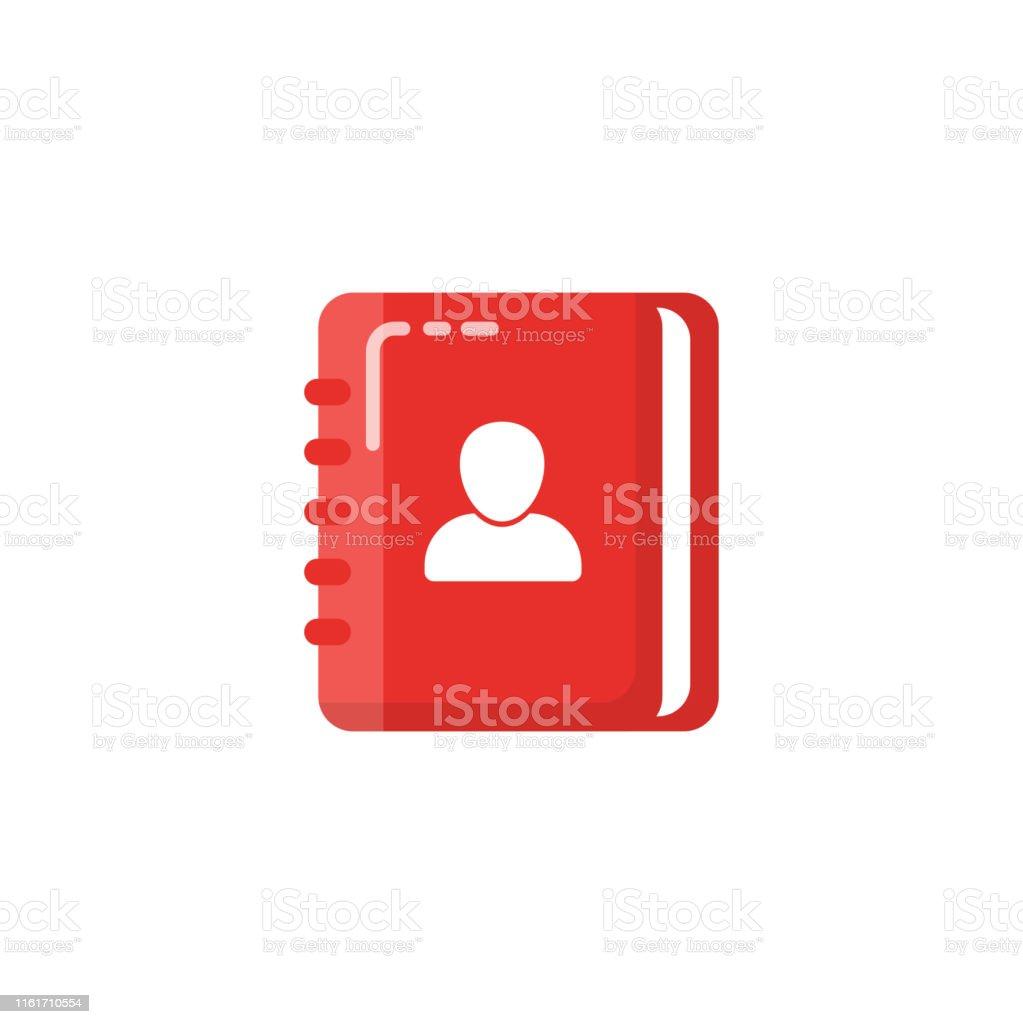 contact book icon design. Address book vector designs