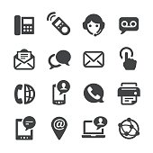 Contact Icons Set - Acme Series