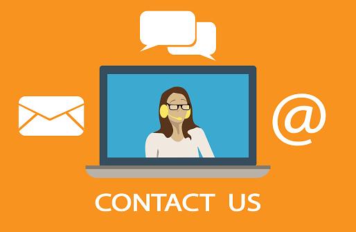 Contact Info Symbols.