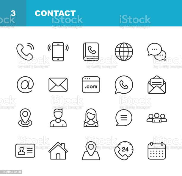 Contact line icons editable stroke pixel perfect for mobile and web vector id1088417818?b=1&k=6&m=1088417818&s=612x612&h=ysmtwc9esguvdqwi5oepfq kt8iksp4mna5ddhnw4v0=
