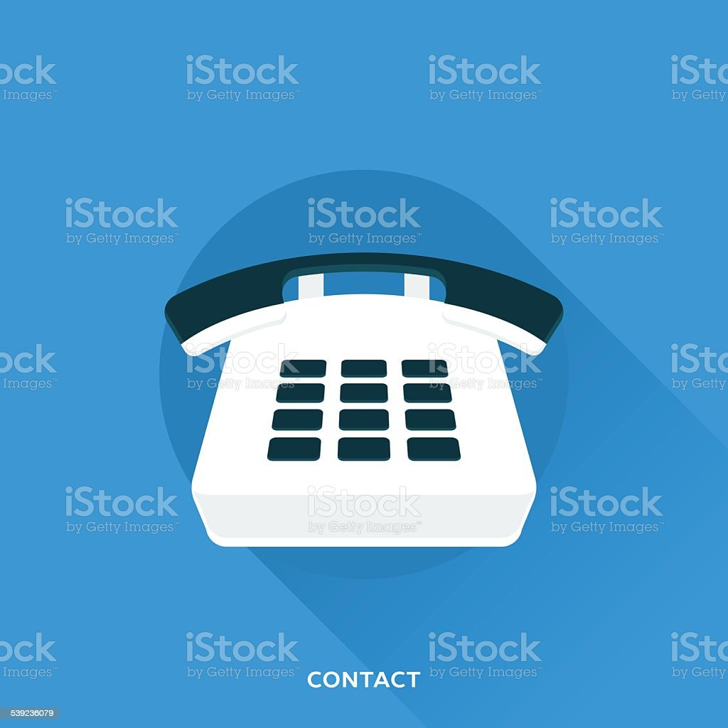 Contact royalty-free contact stock vector art & more images of 2015