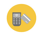 istock Contactless payment icon 1178373248