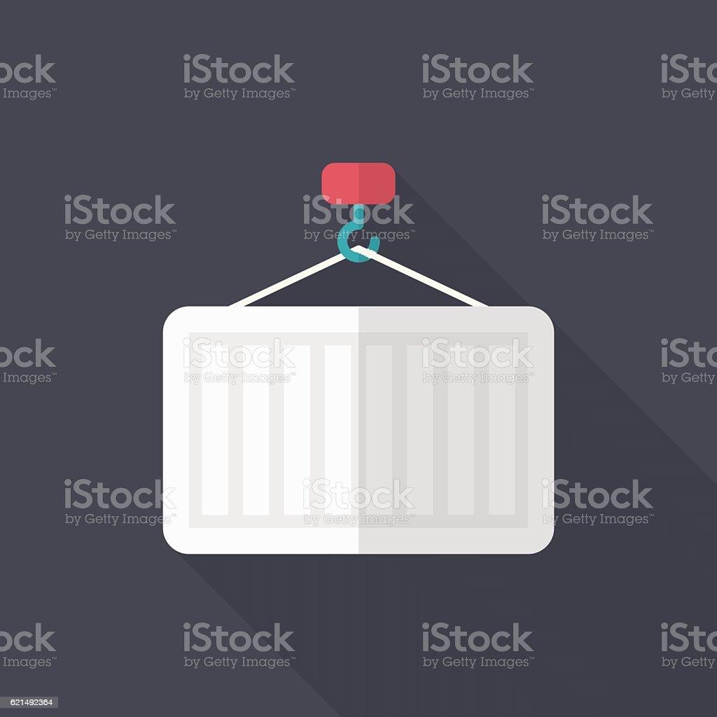 Container icon container icon - immagini vettoriali stock e altre immagini di acciaio royalty-free