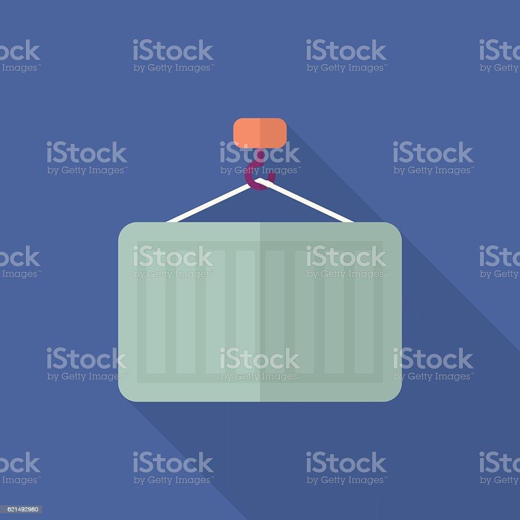 Container icon container icon – cliparts vectoriels et plus d'images de acier libre de droits