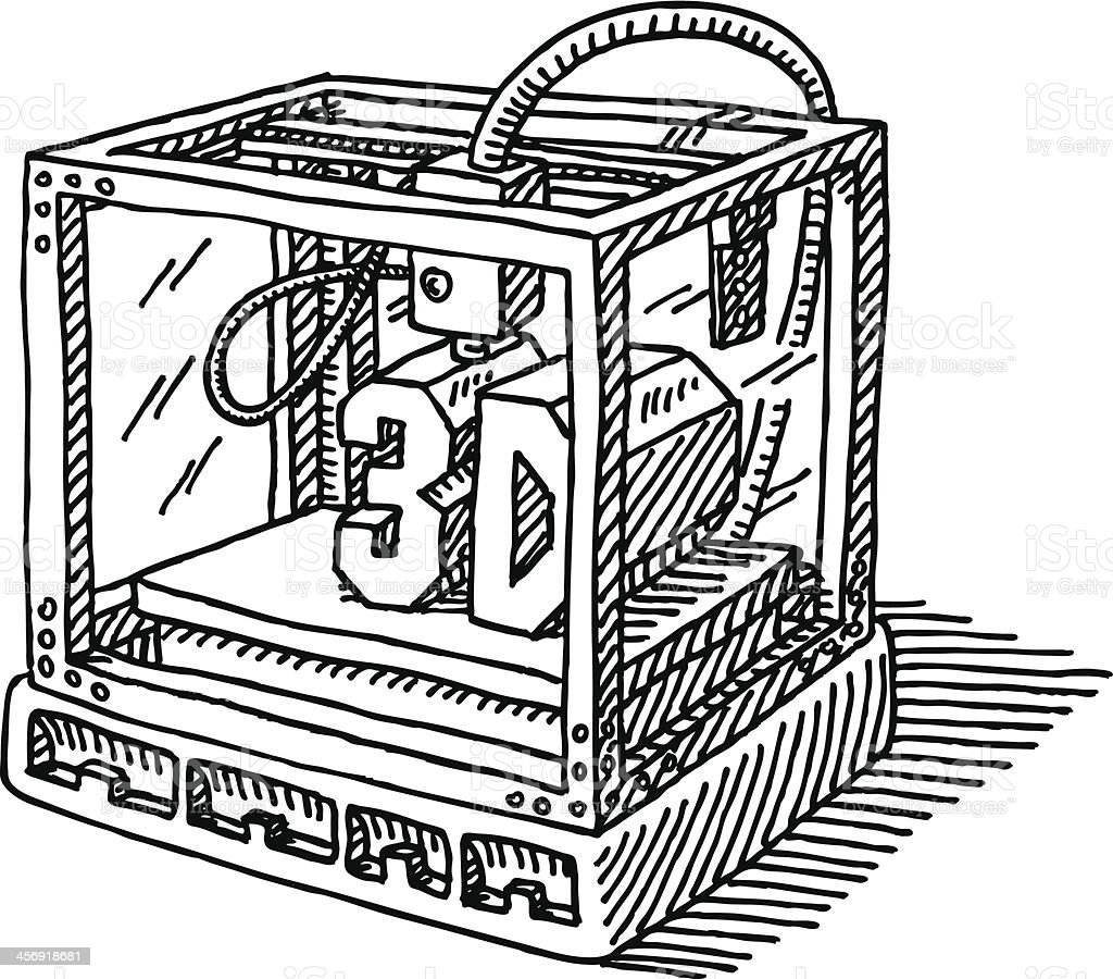 Znalezione obrazy dla zapytania drukarka 3d rysunki