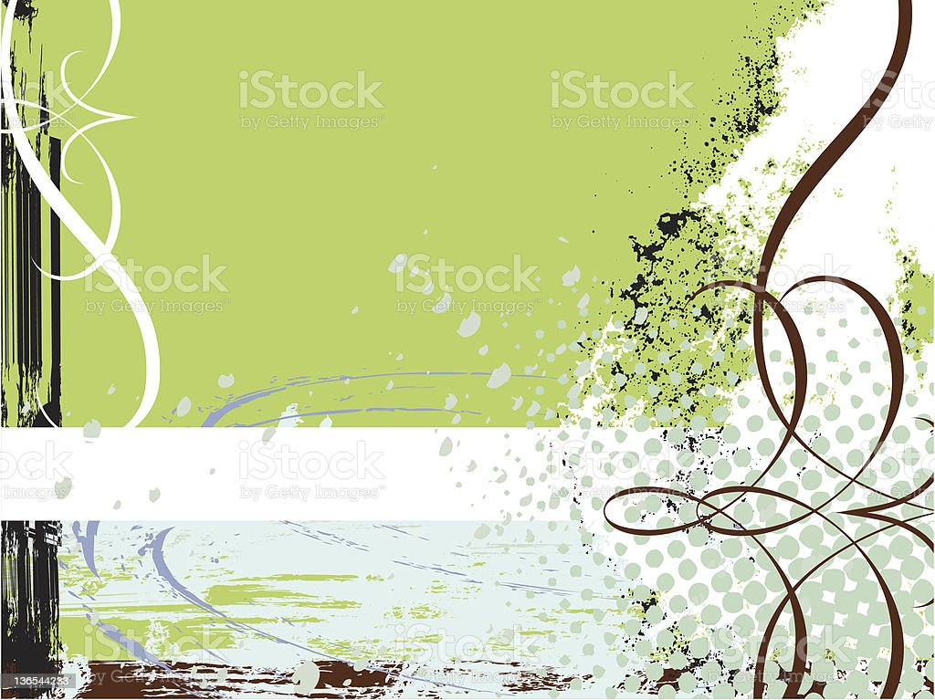 Contemporary Grunge Background royalty-free stock vector art