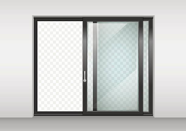 Royalty Free Patio Door Clip Art Vector Images