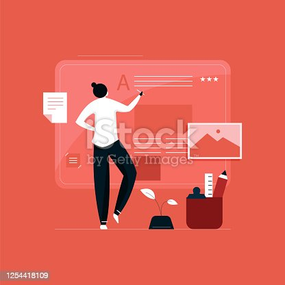 istock Content Marketing and Blogging concept 1254418109